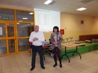 Dogradonačelnik grada Krapine Branko Varjačić i predsjednica ŠK Krapina Mirjana Medić