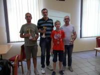 Ozren Biti, Robert Zelčić, Filip Car i Aco Alvir